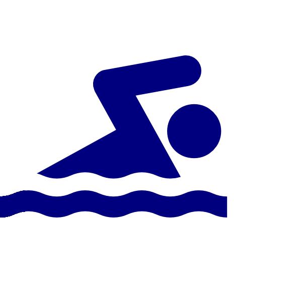 Blue Swimmer Icon Clip Art at Clker.com - vector clip art online ...