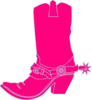 Cowgirl Hat Pink Clip Art