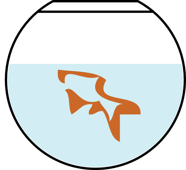 Clip Art Fish Bowl. Fish In Bowl