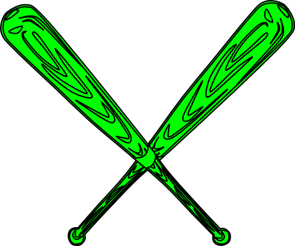 Baseball Bat Svg Clip Art at Clker.com - vector clip art ...