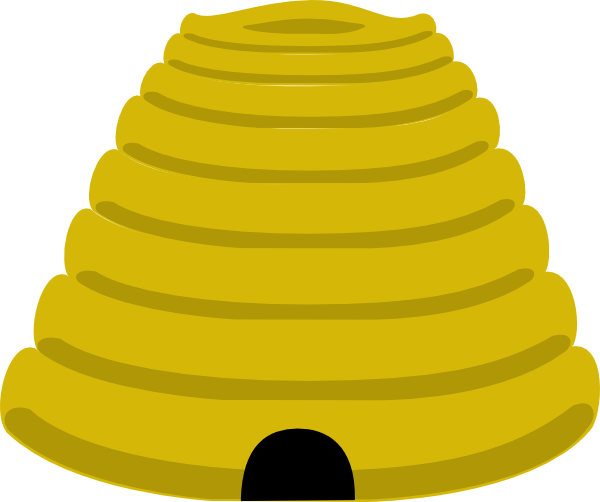 clipart beehive - photo #7