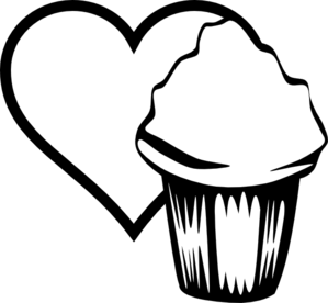 Heart Cupcake Image Clip Art At Clker Com Vector Clip