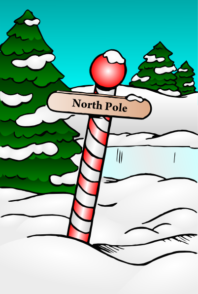 north pole sign clip art at clker com vector clip art north pole clipart black and white north pole clip art free