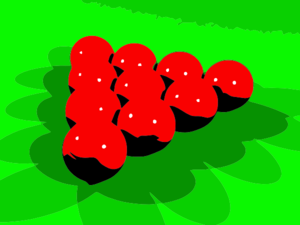 Red Snookers Clip Art