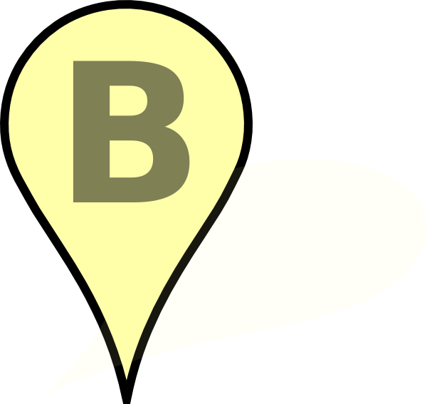 yellow pin clipart - photo #38