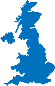 Uk Coverage Map Clip Art