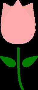 Pink Tulip Clip Art
