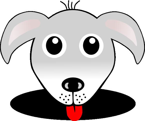 clipart dog face - photo #1