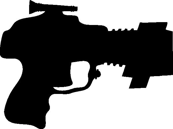 laser tag gun black clip art at clker com vector clip art online rh clker com