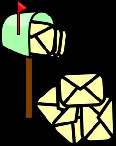 mailbox full clip art at clker com vector clip art mailbox clipart images Mailbox Clip Art