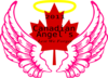 Canadian Wing Angel Halo 4 Clip Art