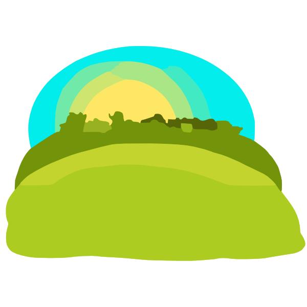 Hills Clip Art at Clker.com - vector clip art online ...