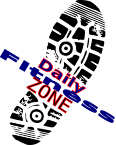 Daily Fitness Zone Clip Art
