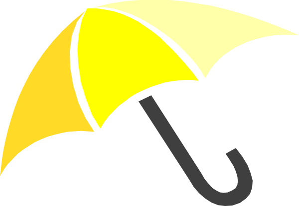 Yellow Umbrella Clip Art at Clker.com - vector clip art online ...