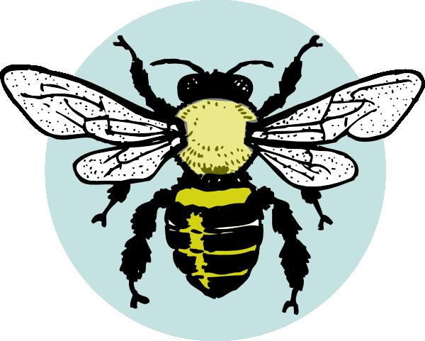 vintage bee clip art - photo #32