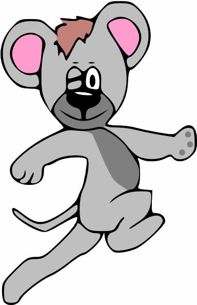 Cartoon Mouse Running Clip Art at Clker.com - vector clip ...