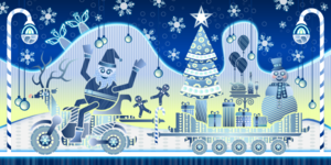 Winter Wonderland  Clip Art