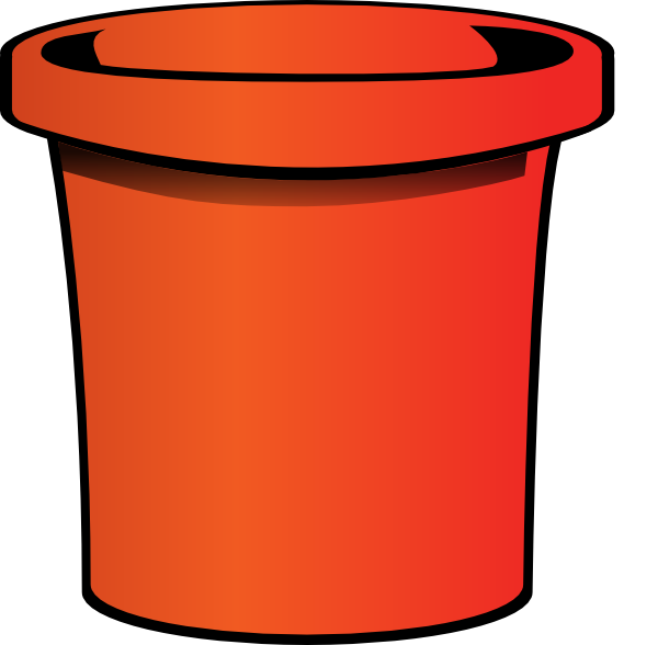 Simple Bucket Clip Art At Clker Com Vector Clip Art