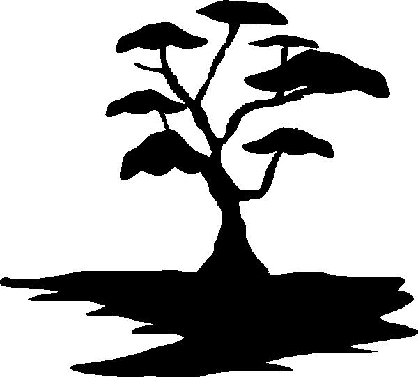 clip art tree silhouette - photo #16