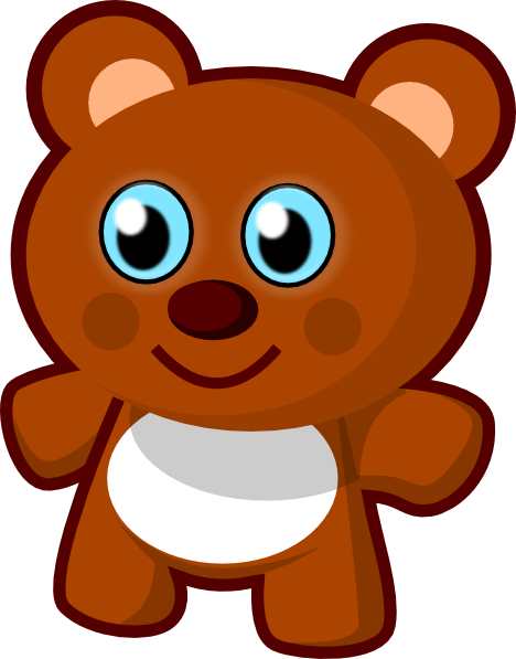 toy clip art. Little Bear Toy clip art
