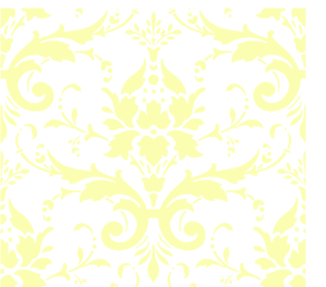 Pale Yellow Damask Clip Art