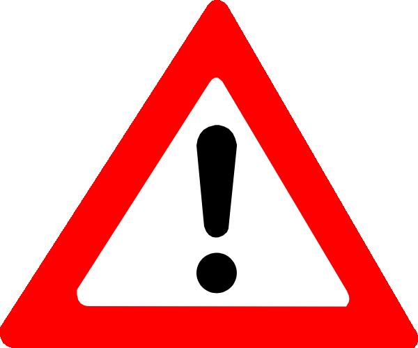 warning sign clip art at clker com vector clip art warning clip art anime warning clip art free