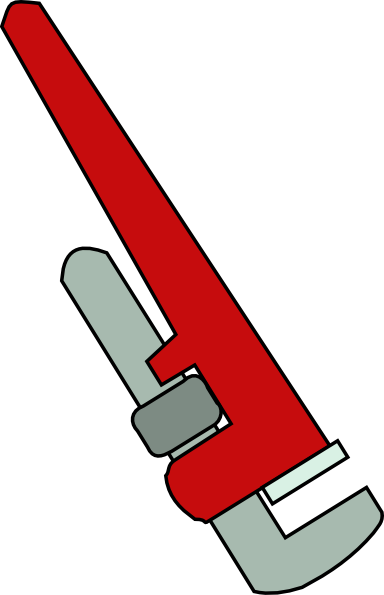 Pipe Wrench Clip Art at Clker.com - vector clip art online ...