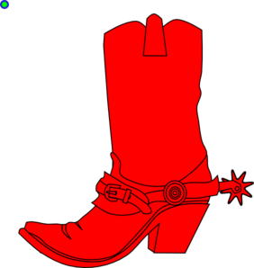 Cowgirl Boot Clip Art