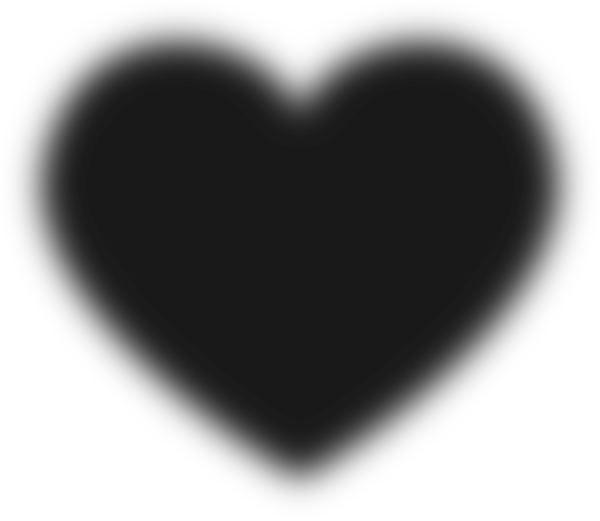 Heartbeat Png Transparent Black: Black Heart Clip Art At Clker.com