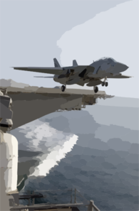 An F-14d Tomcat Assigned To The Bounty Hunters Of Fighter Squadron Two (vf-2) Clip Art