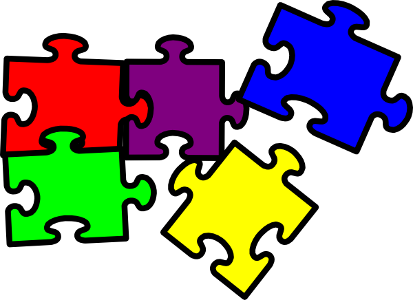 puzzle pieces clip art at clker com vector clip art puzzle pieces clipart for paint puzzle pieces clip art world
