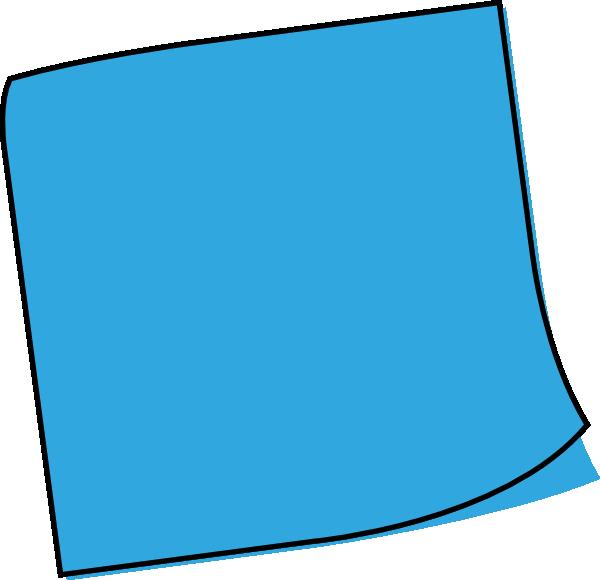 postit clip art at clkercom vector clip art online