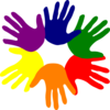 Hands - Various Colors Clip Art