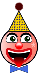 Clown Humor Clip Art