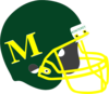 Mhs Green Football Helmet Clip Art