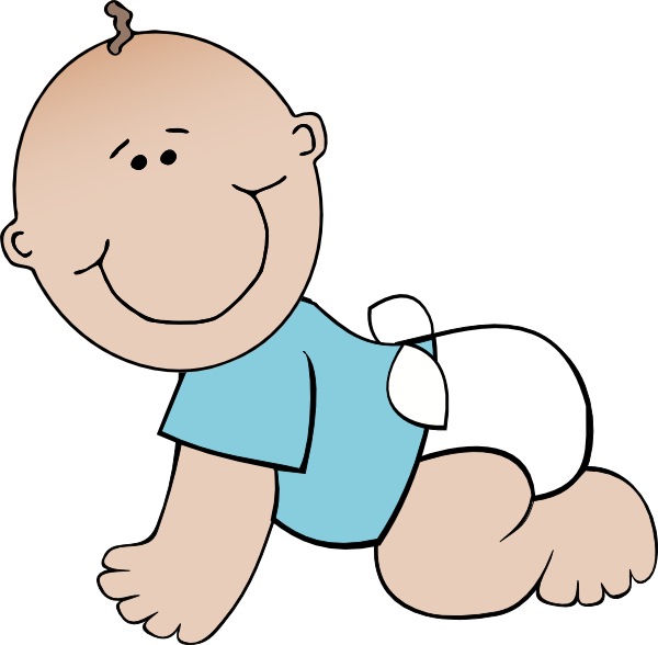 Crawling Baby Clip Art At Clker