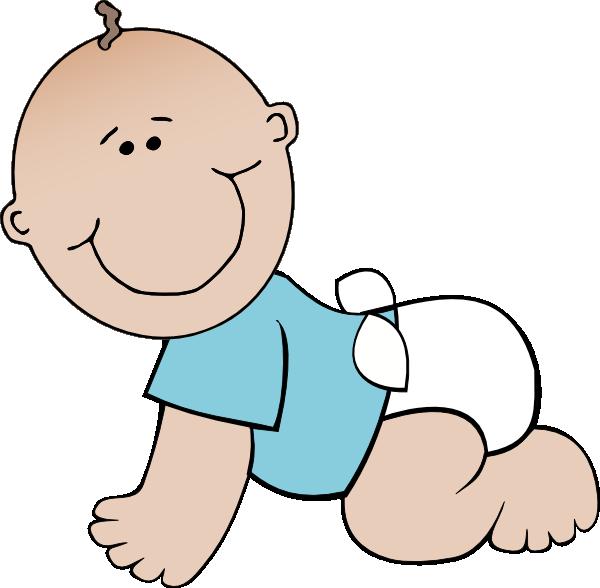 crawling baby clip art at clker com vector clip art online rh clker com clipart baby jesus clip art baby