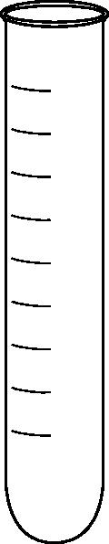 Empty Test Tube Clip Art at Clker.com - vector clip art ...