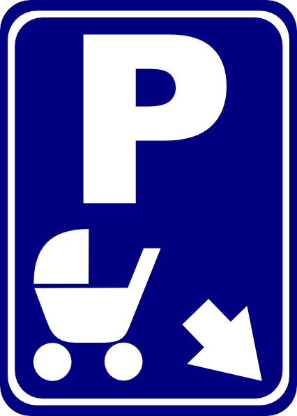 Sign Parking For Strollers Clip Art at Clker.com - vector clip art ...