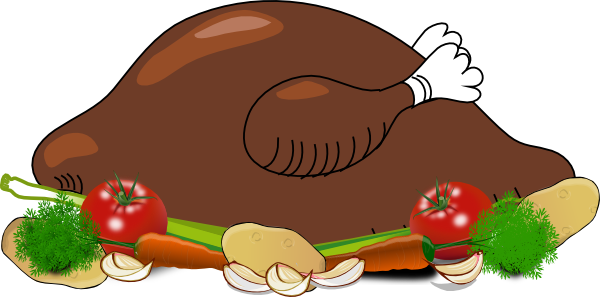 clipart chicken cooked - photo #19