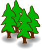 Evergeen Forest Clip Art