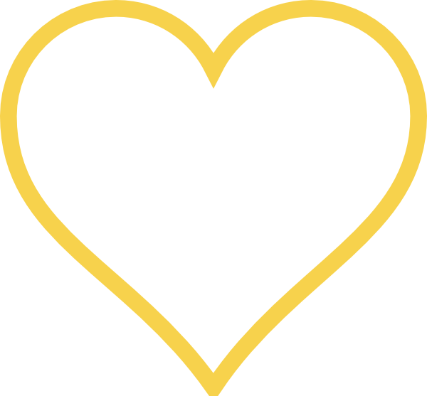 Light Gold Heart Clip Art at Clker.com - vector clip art online ...