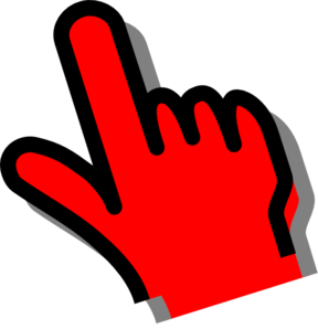 Red  Hand Clip Art