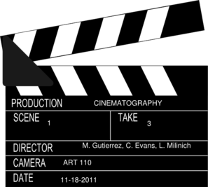 Art110-cinematography Clip Art