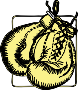 Boxing Gloves Clip Art