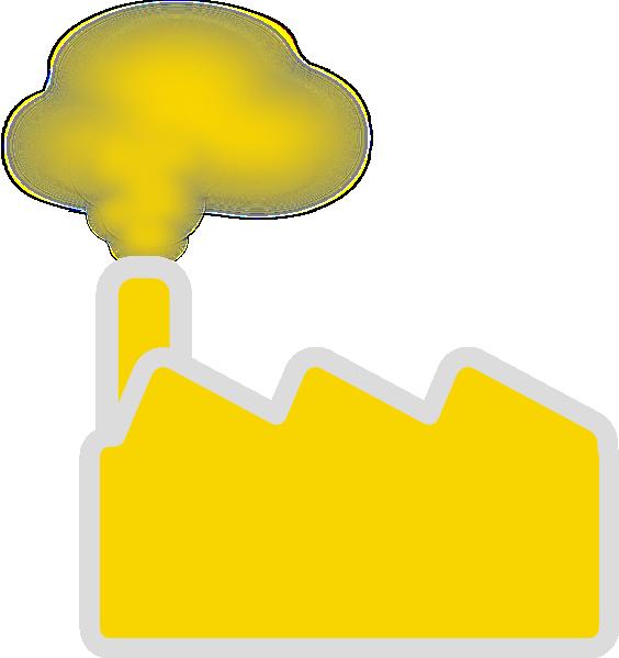 Yellow Factory Clip Art At Clker Com Vector Clip Art