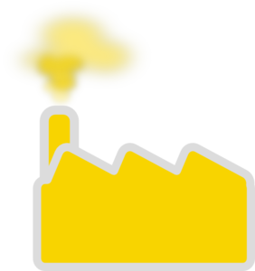 Yellow Factory Clip Art