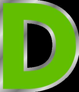 D Green Clip Art