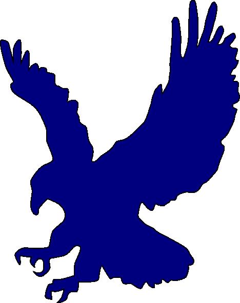Blue Eagle Clip Art At Clkercom Vector Online
