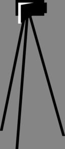 Video Camera Tripod Clip Art at Clker.com - vector clip ...